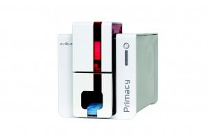Primacy ID badge printer
