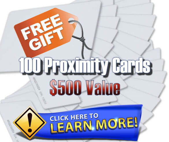 Free Access Control Proximity Cards