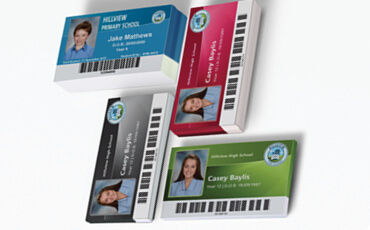 Student ID Card Stack