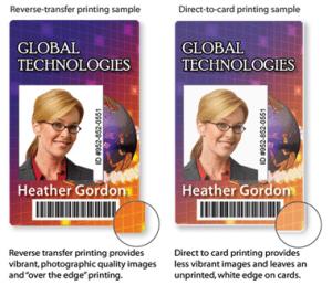 Comparing ID Card Printing Methods