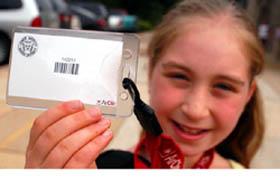 Elementary Student School ID Card
