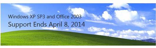 Announcement to Advantidge ID Card Printer users: Microsoft Windows XP SP3 and Office 2003 Support Ends April 8th 2014