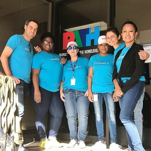 ADVANTIDGE Team Day Serving Homeless