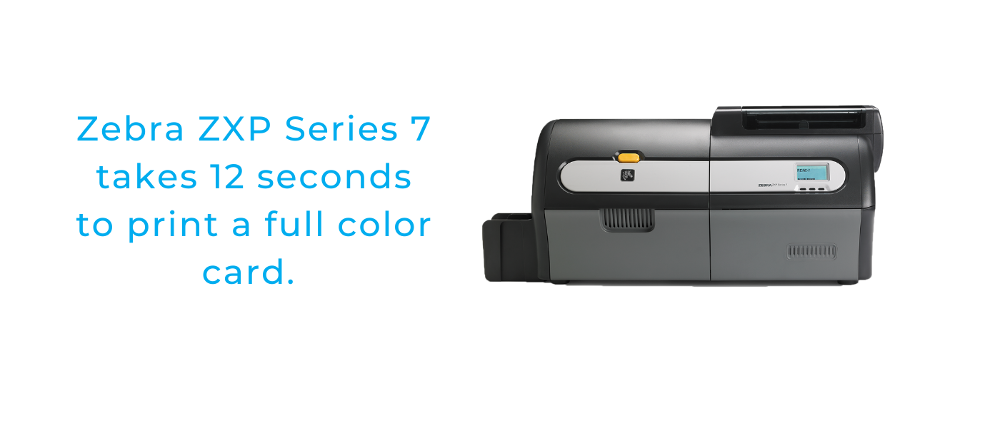 Zebra ZXP 7 Fastest ID Card Printer