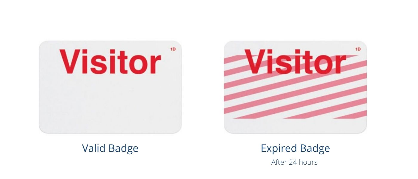 Expiring Visitor Badges
